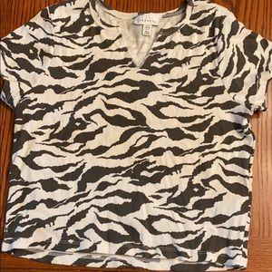 Nordstrom top shop t shirt size 8